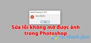 loi khong mo duoc anh tren photoshop