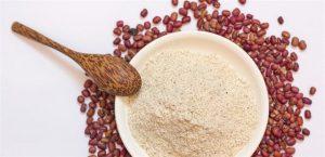 bột đậu đỏ tắm trắng body