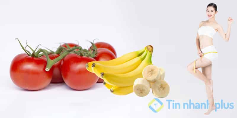 ăn chuối giúp giảm cân nhanh
