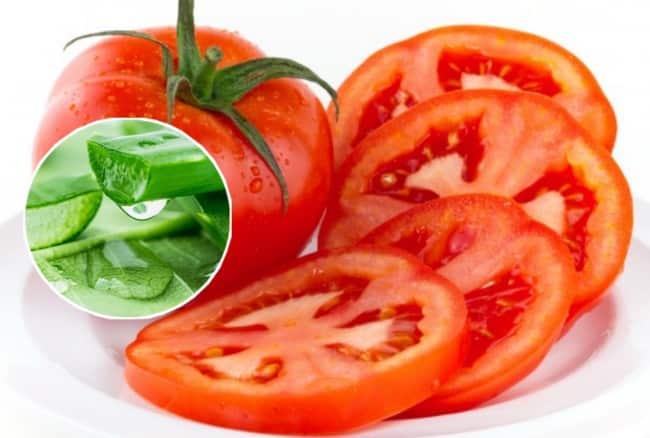 cà chua giúp làm đẹp da