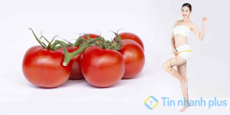 giảm cân nhanh bằng cà chua