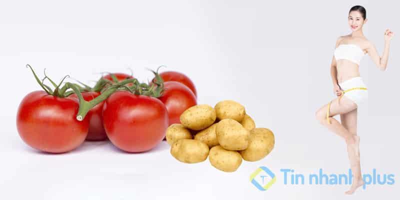 khoai tây giúp làm đẹp da