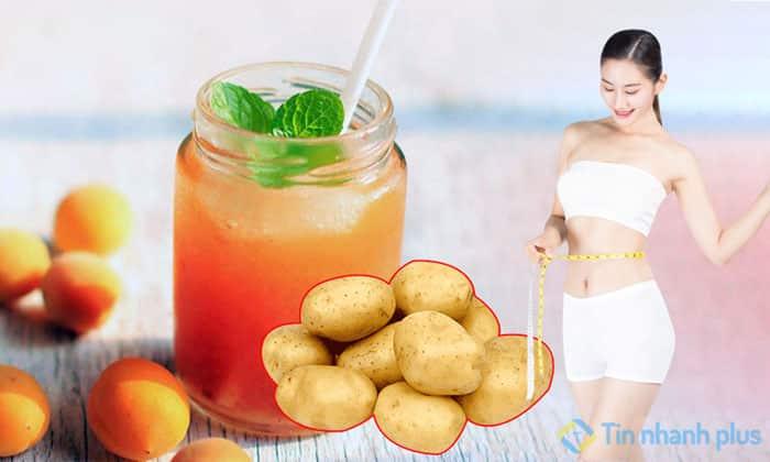 ăn khoai tây giúp giảm cân nhanh