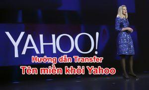 transfer tên miền khỏi yahoo