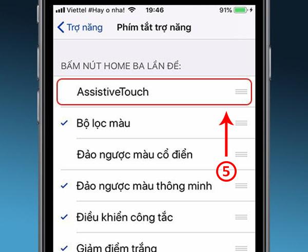 hướng dẫn bật nút home ảo trên iphone 6 plus