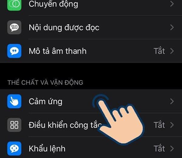 hướng dẫn bật nút home ảo trên iphone 8