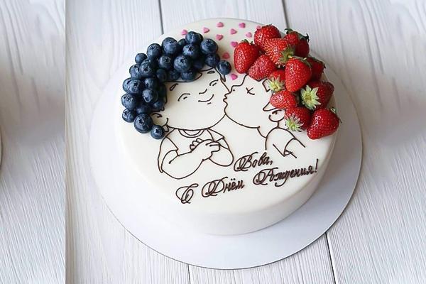 bánh sinh nhật tặng bạn trai