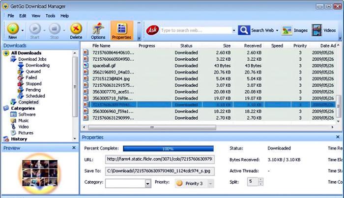 phần mềm getgo download manager
