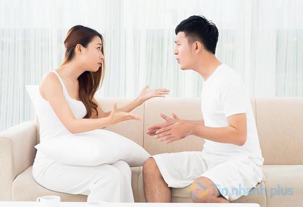 không nên tranh luận với người yêu khi bị ốm