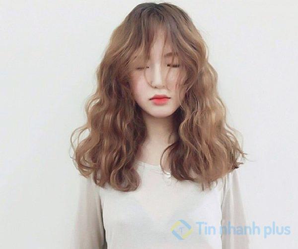 kiểu tóc xù cá tính