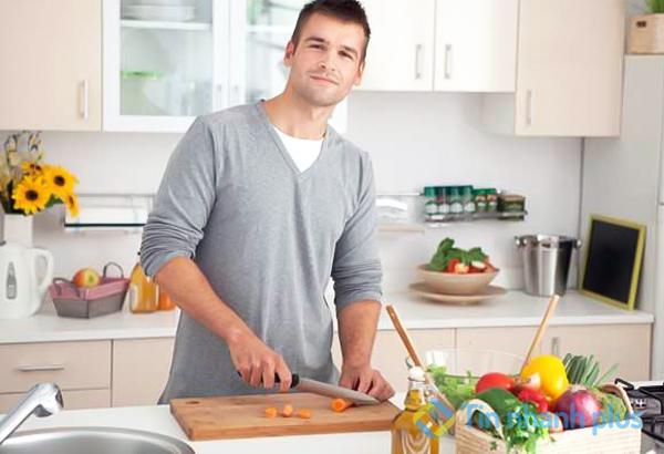 nấu ăn cho người yêu khi cô ấy bị ốm
