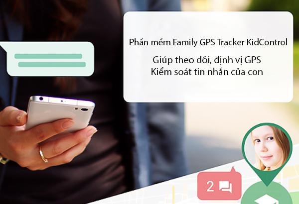 phần mềm Family GPS Tracker KidControl