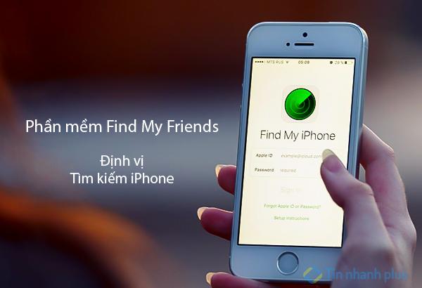 phần mềm find my friends