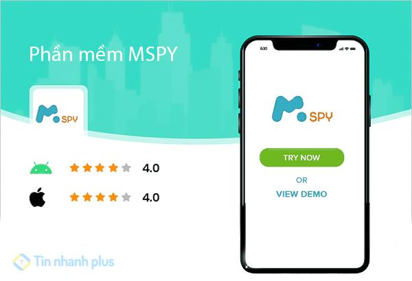 phần mềm theo dõi điện thoại iphone mspy