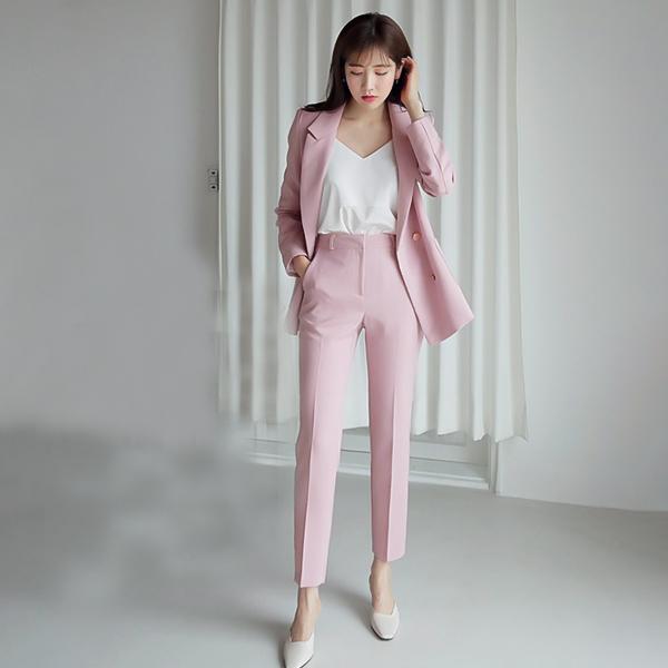 set bộ đồ màu hồng