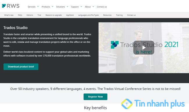 phần mềm SDL Trados Studio