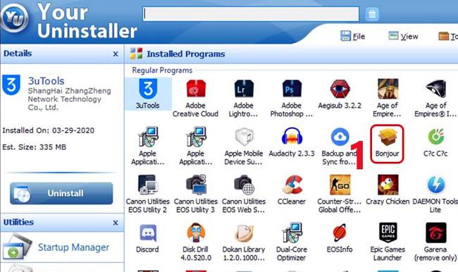 phần mềm your uninstall