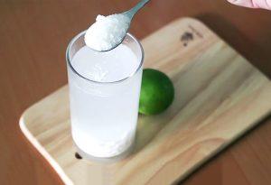uống nước bột sắn dây giúp chống say nắng