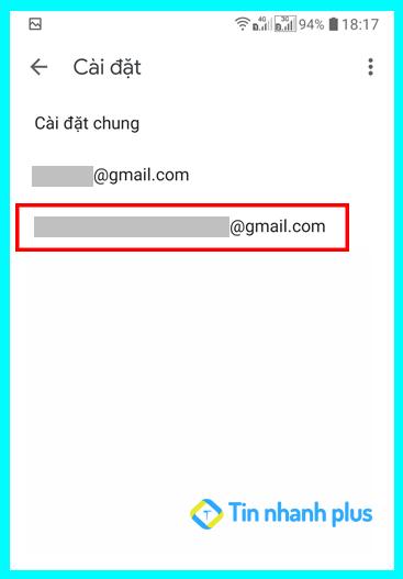 hướng dẫn thay đổi mật khẩu gmail trên điện thoại android