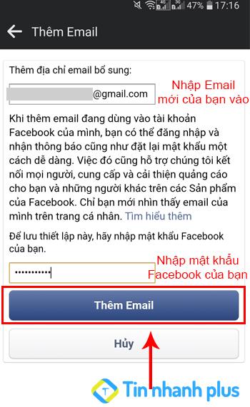 sửa lỗi facebook không gửi mã xác nhận về Facebook