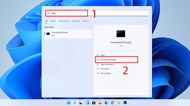 tắt phần mềm chạy ngầm trên máy tính bằng Command Prompt