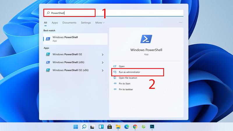 tắt ứng dụng chạy ngầm trên windows bằng PowerShell
