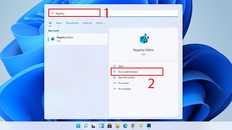 tắt ứng dụng chạy ngầm bằng Registry