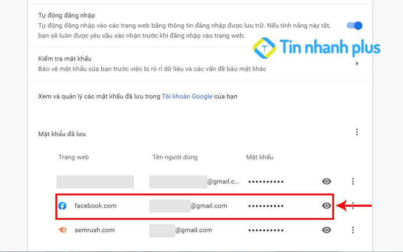 hướng dẫn xem mật khẩu máy tính trên facebook