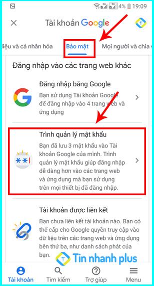 hướng dẫn xem mật khẩu facebook bằng smart lock