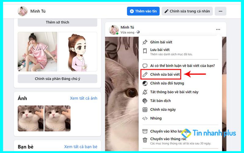 hướng dẫn cách ẩn ảnh facebook trên máy tính