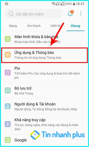 bật thông báo messenger trên điện thoại