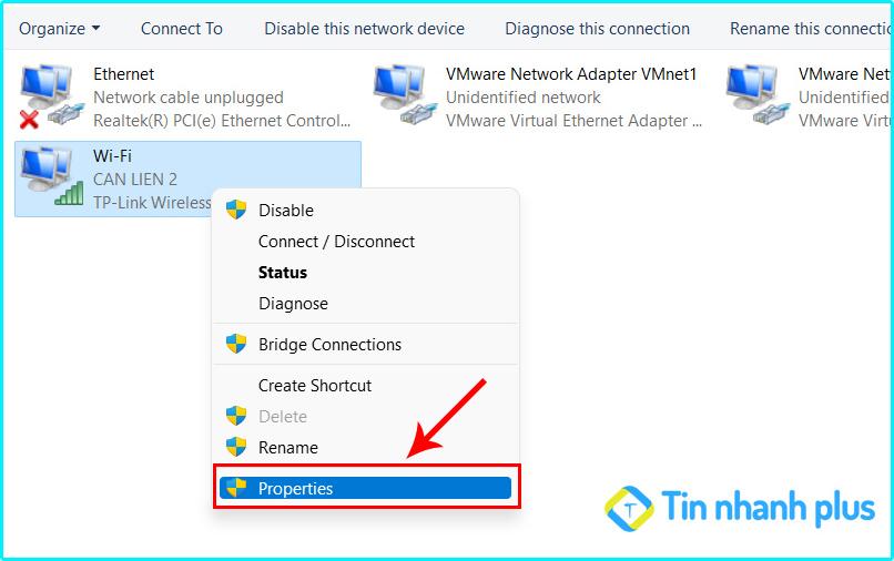 sửa lỗi không thể tải được tệp tin lrrn gmail bằng dns