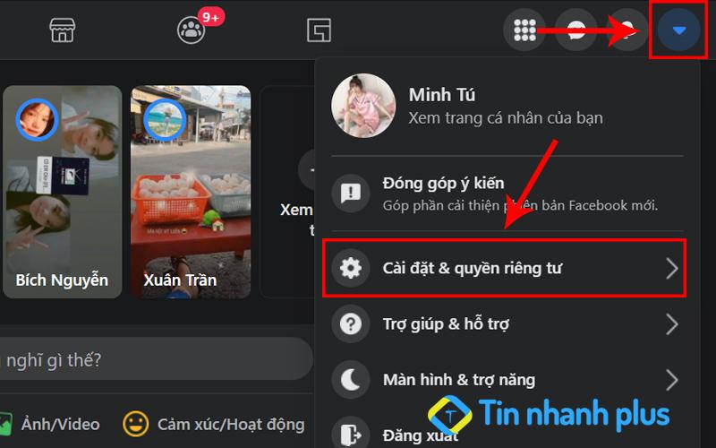 cách chỉnh ngôn ngữ Facebook trên máy tính