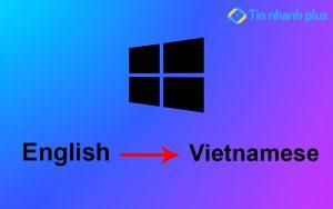 chuyển ngôn ngữ trong win 11