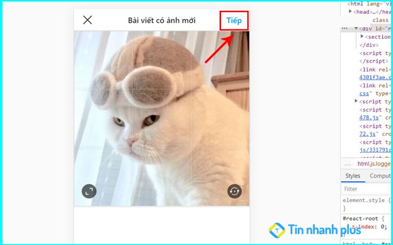 hướng dẫn tải ảnh instagram trên máy tính