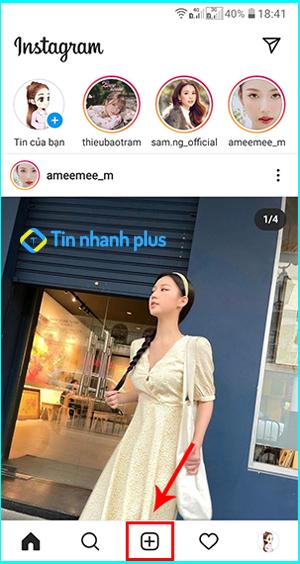 cách tải ảnh lên instagram bằng điện thoại