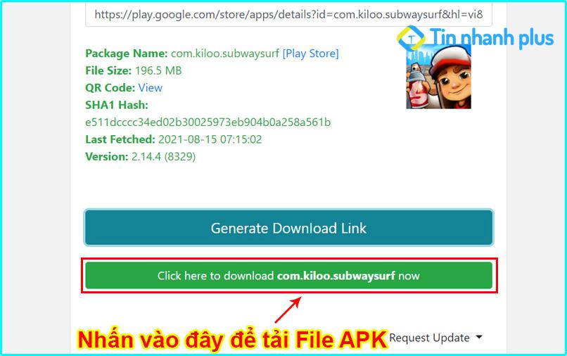 cách download file apk trên google play về máy tính