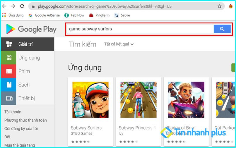 cách tải file apk trên google play về máy tính
