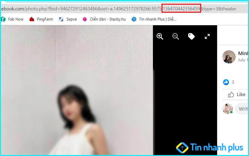 cách xem ảnh riêng tư trên facebook bằng id