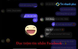 đọc trộm tin nhắn Facebook