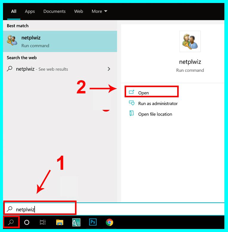 đổi tên user bằng Netplwiz