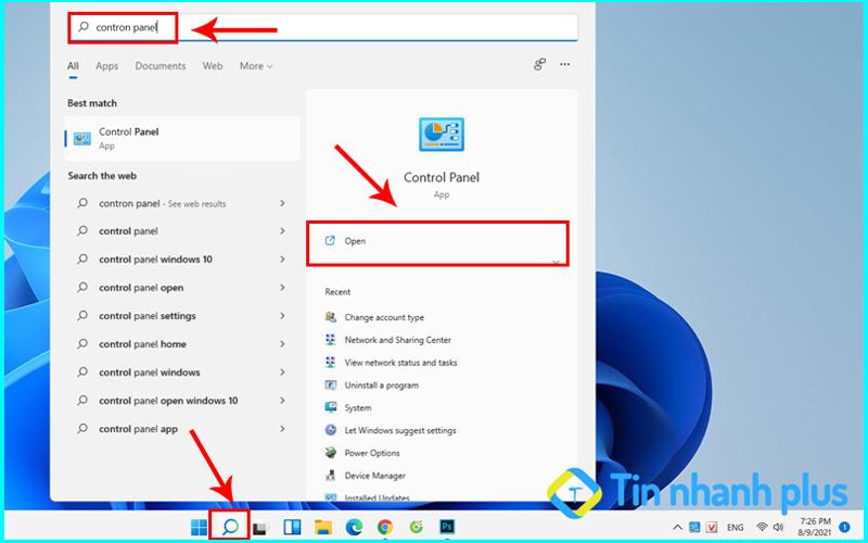 đổi tên user win 11 bằng control panel