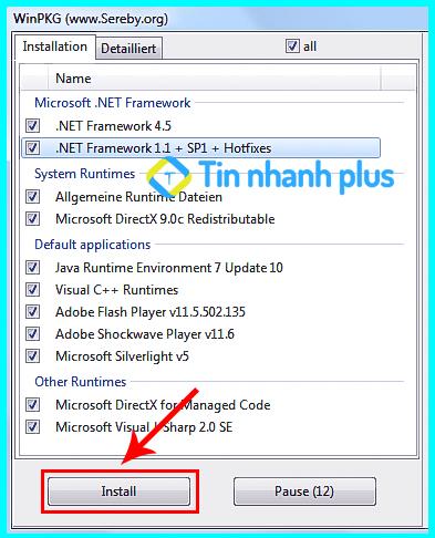phần mềm sử lỗi 0xc00007b