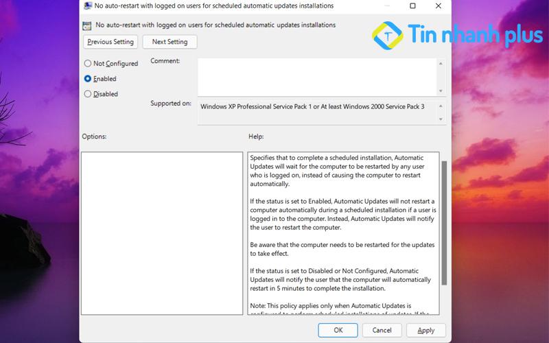 hướng dẫn tắt thông báo windows bằng Group Policy