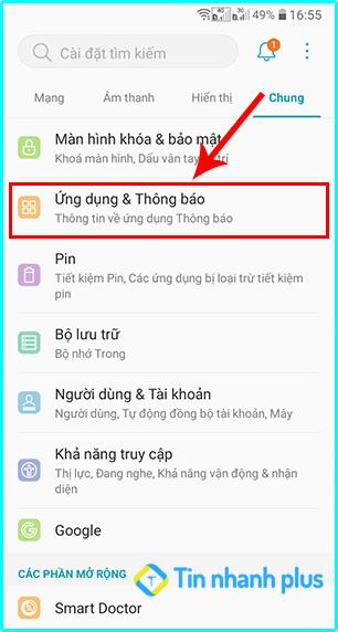 cách bật lại thông báo trên ứng facebook bằng điện thoại