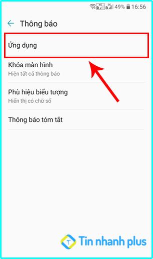 hướng dẫn cách bật thông báo ứng dụng facebook trên điện thoại