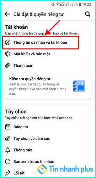 hướng dẫn cách đổi tên facebook không phải tên thật