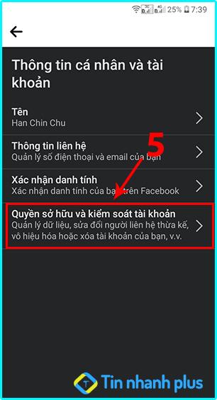hướng dẫn cách vô hiệu hóa tài khoản facebook trên android