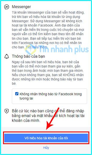 cách khóa tài khoản facebook trên iphone nhanh nhất
