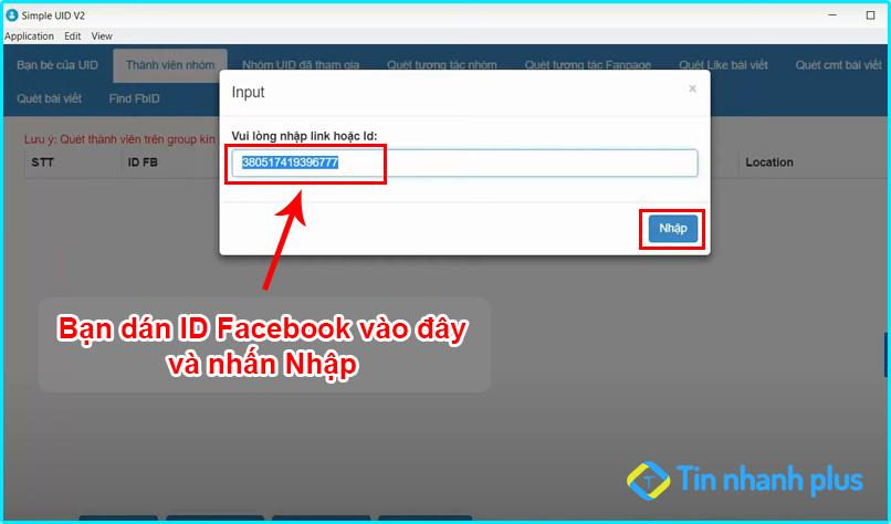 hướng dẫn cách tìm id qua facebook mới nhất